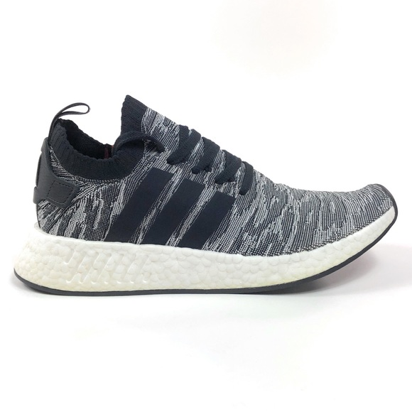 envase diapositiva Desalentar  adidas Shoes | Nmd R2 Pk Zebra Sneakers By9409 | Poshmark